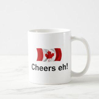 Canada Cheers, eh! Basic White Mug