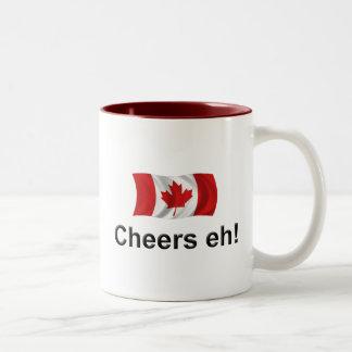 Canada Cheers, eh! Two-Tone Mug