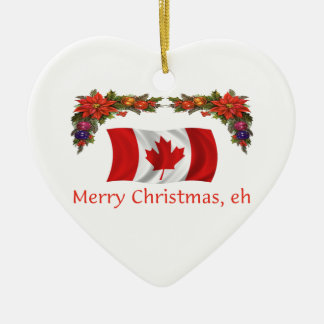 Canada Christmas Christmas Ornament