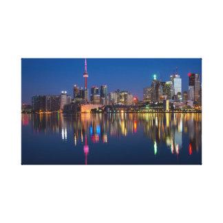 Canada city canvas