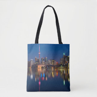 Canada city tote bag