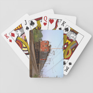 Canada, CNR boxcab electric_Trains of the World Playing Cards