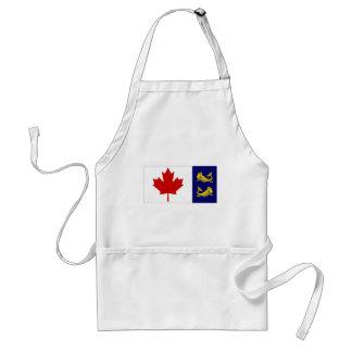 Canada Coast Guard Flag Standard Apron