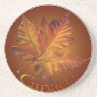 Canada Coaster Souvenir Autumn Leaf Canada Gifts