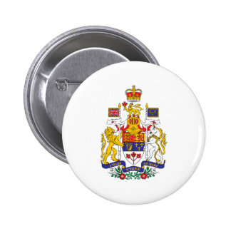 Canada Coat Of Arms Pinback Button