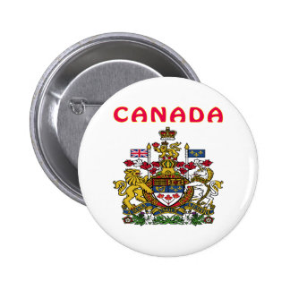 Canada Coat Of Arms Buttons