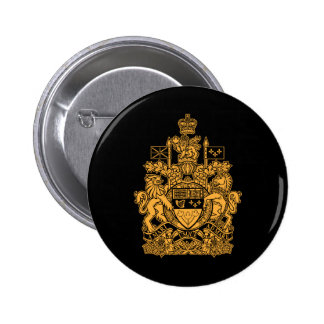 Canada Coat of Arms - Canada Crest Buttons
