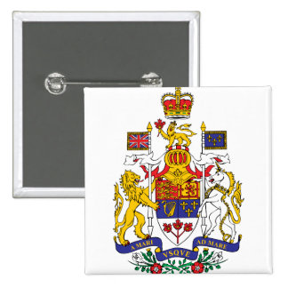 Canada Coat of Arms detail Buttons