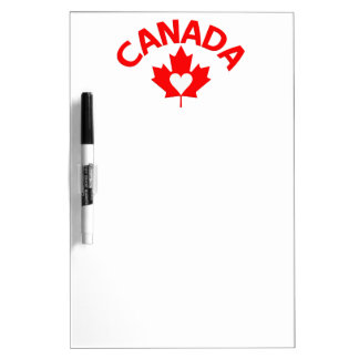 CANADA custom message board Dry-Erase Whiteboards