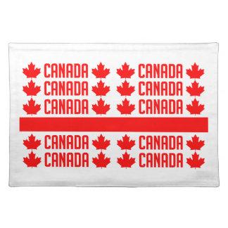 CANADA custom placemat