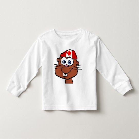 Canada Day Beaver Toddler shirt 2