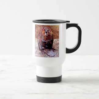 Canada Day Beaver Travel Mug