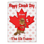 Canada Day Eh Team Card