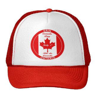 CANADA DAY ERIN Baseball Cap Mesh Hat