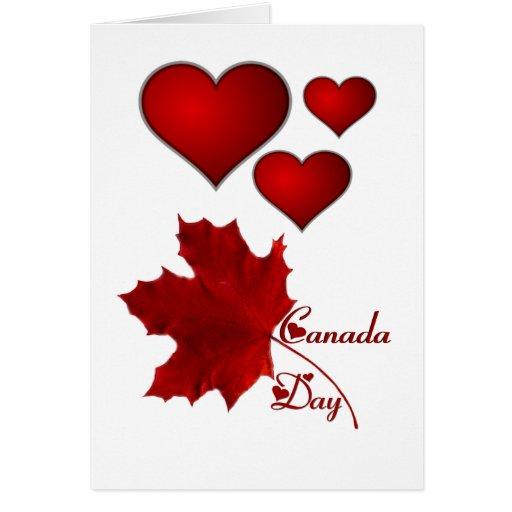 Canada Day Greeting Card Zazzle