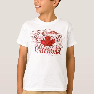 Canada Day Grungy Urban T-Shirt