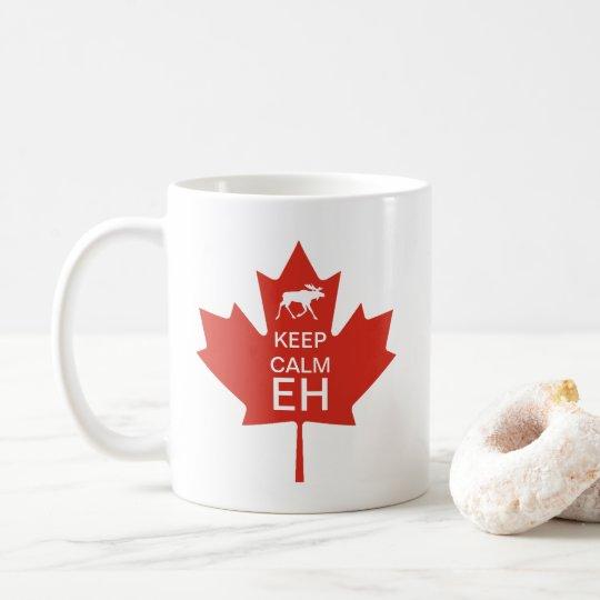 Canada Day KEEP CALM EH Coffee Mug