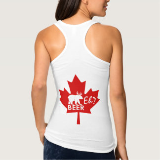 Canada Day Maple leaf Beer Eh? tank top