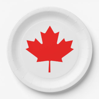 Canada Day  set of 8 paper plates