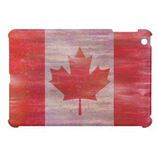 Canada distressed Canadian flag Case For The iPad Mini
