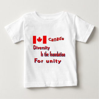 Canada Diversity and Unity T Shirt