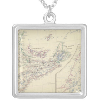 Canada E Silver Plated Necklace