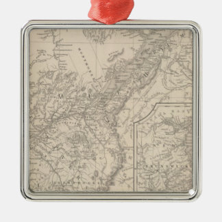 Canada East Lower Christmas Ornament