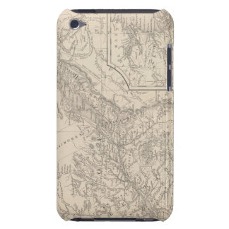 Canada East Lower iPod Touch Cases