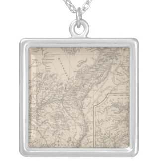 Canada East Lower Silver Plated Necklace