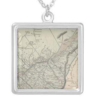Canada East Silver Plated Necklace