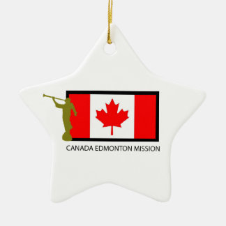CANADA EDMONTON MISSION LDS CTR CERAMIC STAR DECORATION