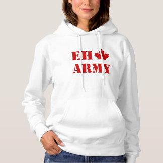 Canada Eh Army Hoodie