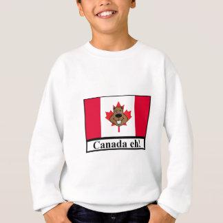 Canada eh! beaver head sweatshirt