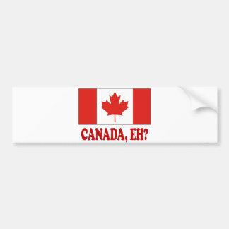 CANADA,EH? BUMPER STICKER