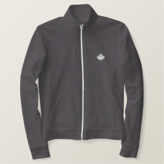 Canada Embroidered Fleece Jogger Jacket