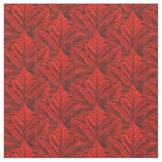 Canada Fabric Canada Maple Leaf Fabric Flag Fabric