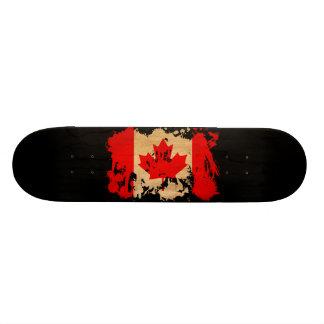 Canada Flag 19.7 Cm Skateboard Deck