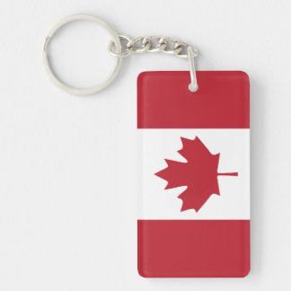 Canada Flag Acrylic Keychain