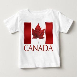 Canada Flag Baby  T-shirt Canada Baby T-shirt