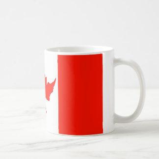Canada Flag Basic White Mug