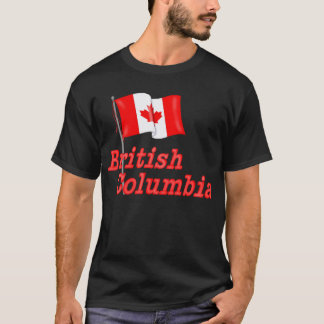 Canada Flag - British Columbia T-Shirt