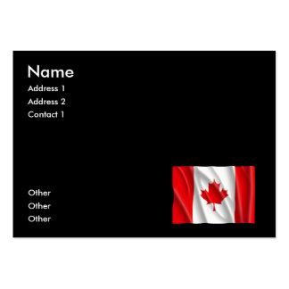 CANADA FLAG BUSINESS CARD