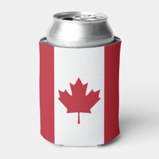 Canada Flag Can Cooler