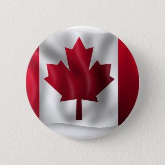 Canada Flag Canadian Country Emblem Leaf Maple 6 Cm Round Badge