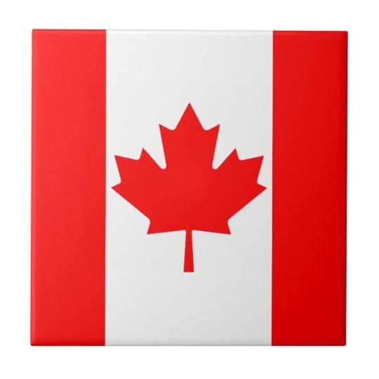 Canada Flag Ceramic Tile