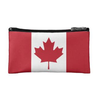 Canada Flag Cosmetic Bag