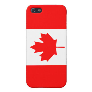 Canada Flag Cover For iPhone 5/5S