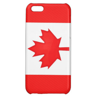 Canada Flag Cover For iPhone 5C