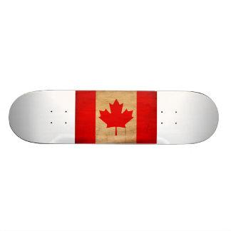 Canada Flag Custom Skate Board