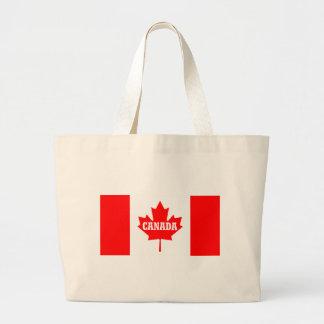 Canada Flag Design Jumbo Tote Bag
